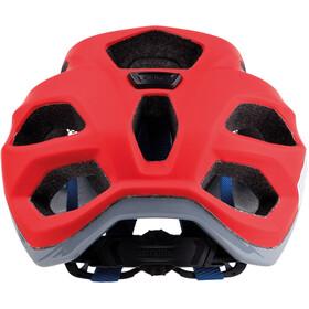 Alpina Carapax Cykelhjelm rød/blå